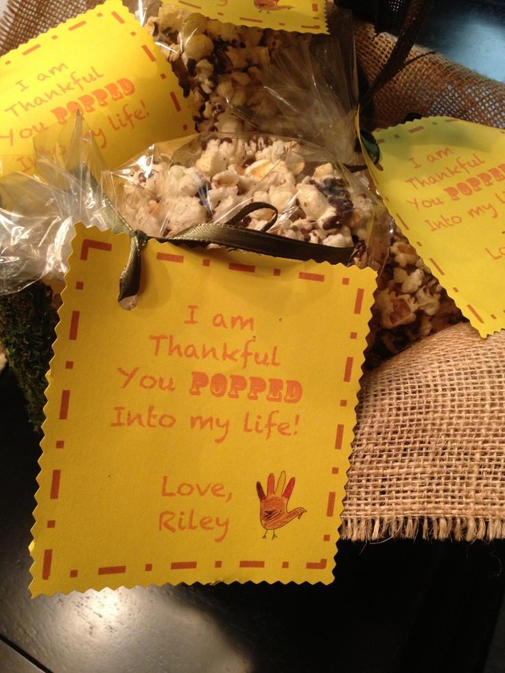 Thanksgiving Gift Ideas For Teachers  Cute Thanksgiving t idea for a teacher