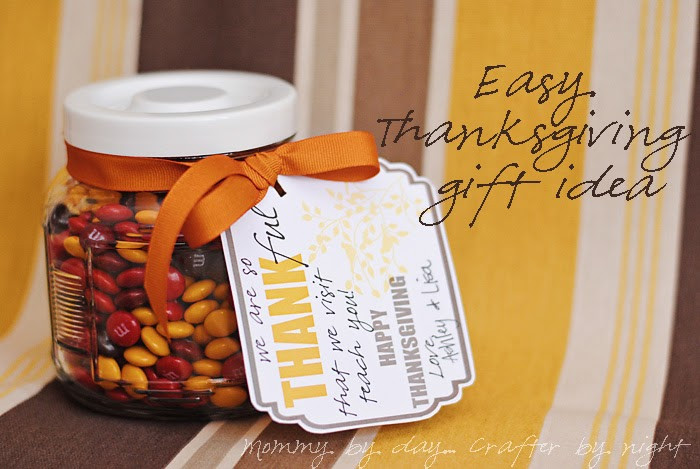 Thanksgiving Gift Ideas For Teachers  Mommy by day Crafter by night November Visiting Teaching