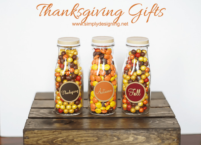 Thanksgiving Gift Ideas  Simple Thanksgiving Gift Idea
