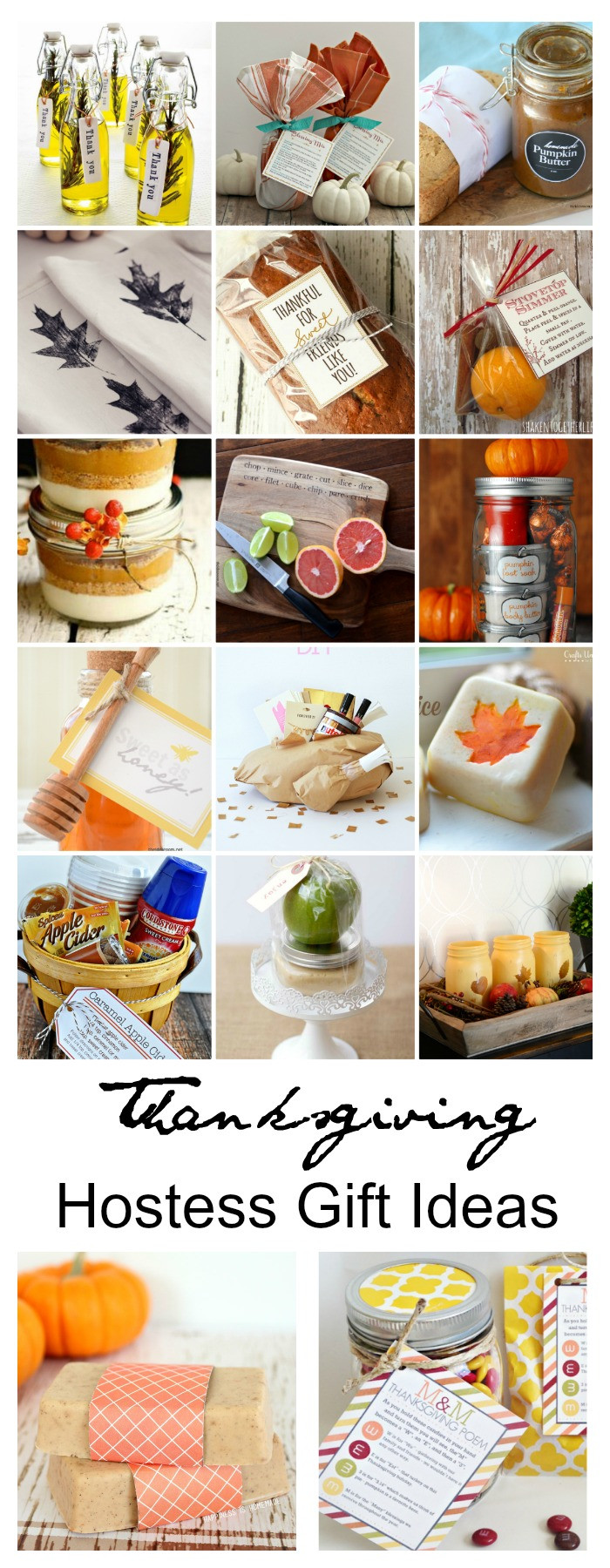 Thanksgiving Hostess Gift Ideas  Thanksgiving Hostess Gift Ideas The Idea Room