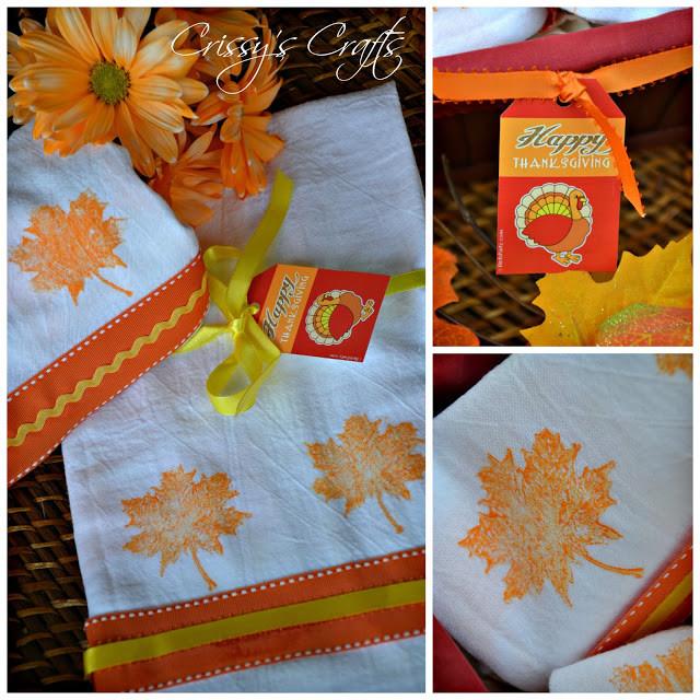 Thanksgiving Hostess Gift Ideas Homemade  Crissy s Crafts Thanksgiving Hostess Gift and Blog Hop