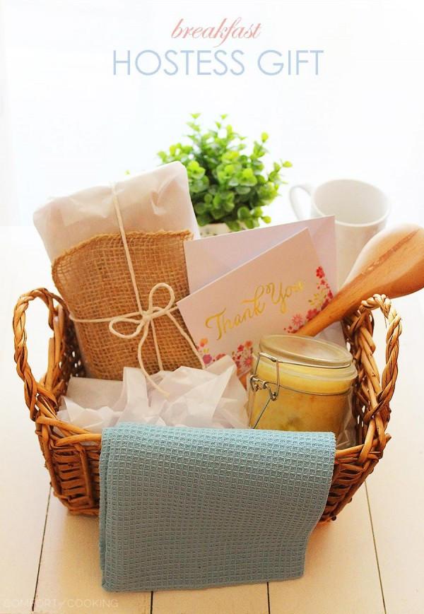 Thanksgiving Hostess Gift Ideas Homemade  Homemade Breakfast Hostess Gift