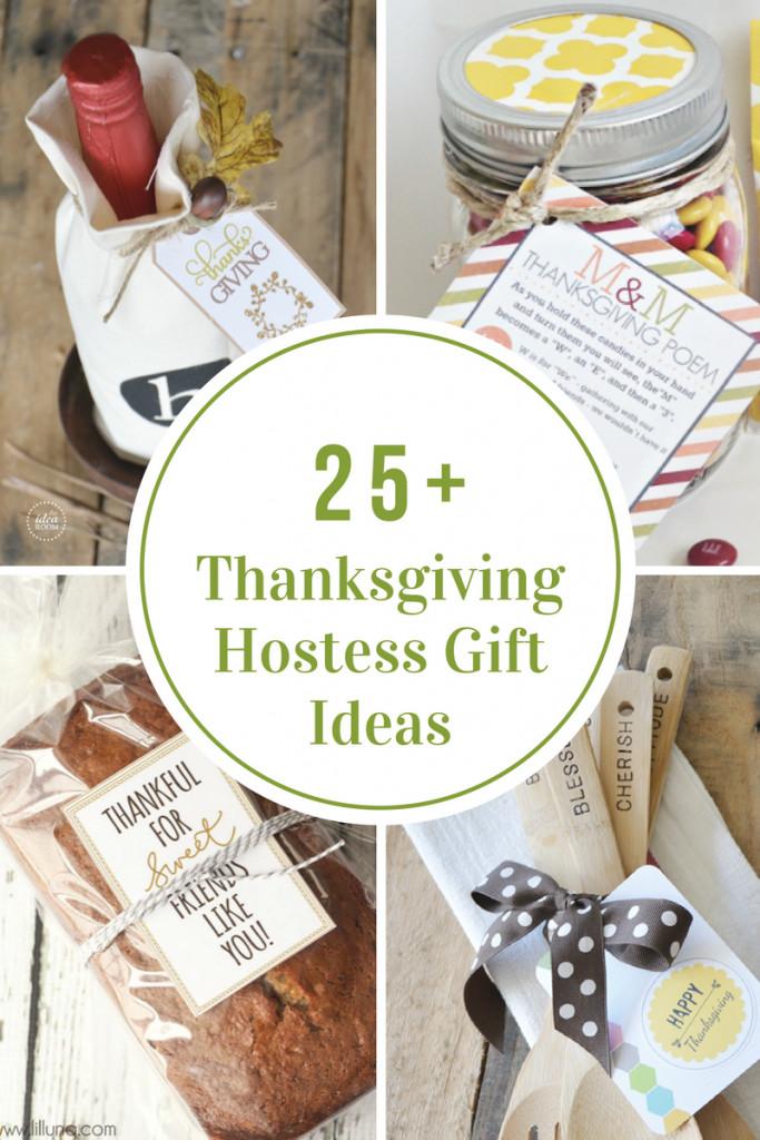 Thanksgiving Hostess Gift Ideas  Thanksgiving Dinner Menu Recipe Ideas The Idea Room