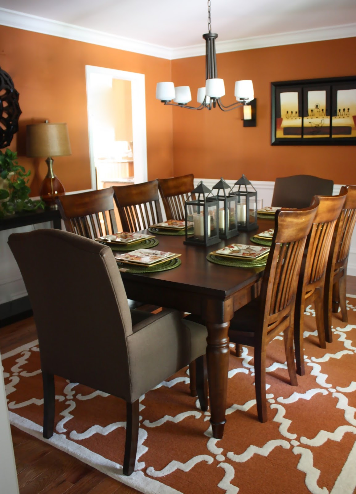 Best ideas about The Dining Room . Save or Pin The Yellow Cape Cod Before and After A Dining Room Design Now.
