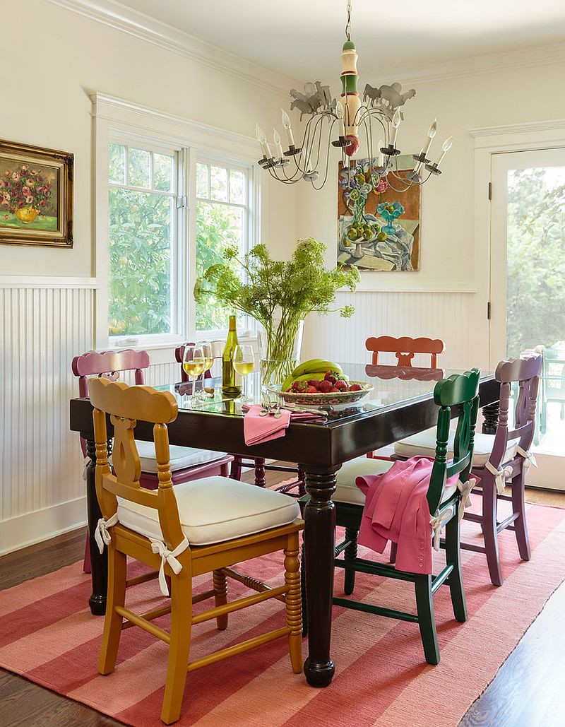 Best ideas about The Dining Room . Save or Pin 50 Cool and Creative Shabby Chic Dining Rooms Now.