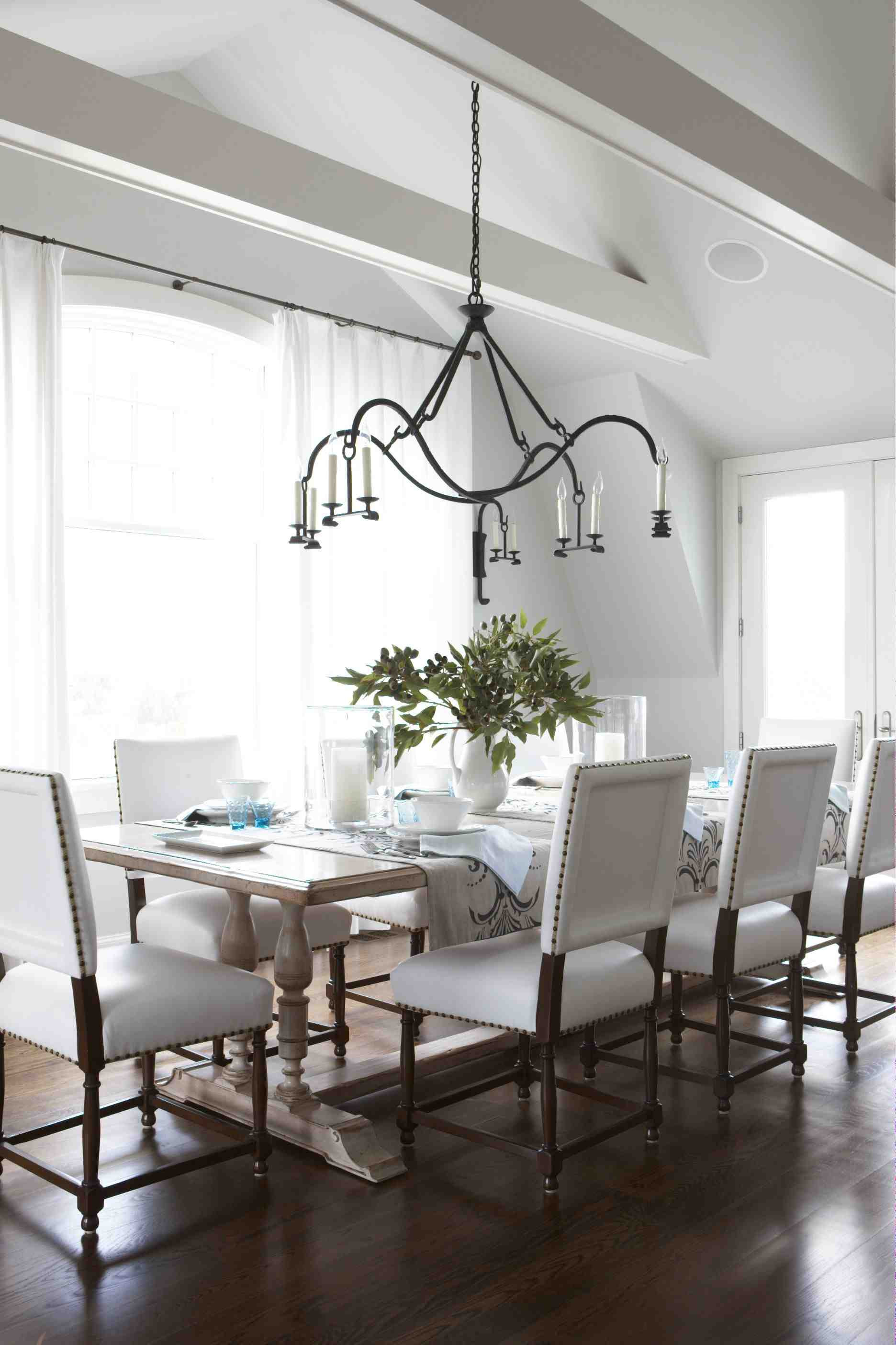 Best ideas about The Dining Room . Save or Pin Style Archive—Awash in White Now.