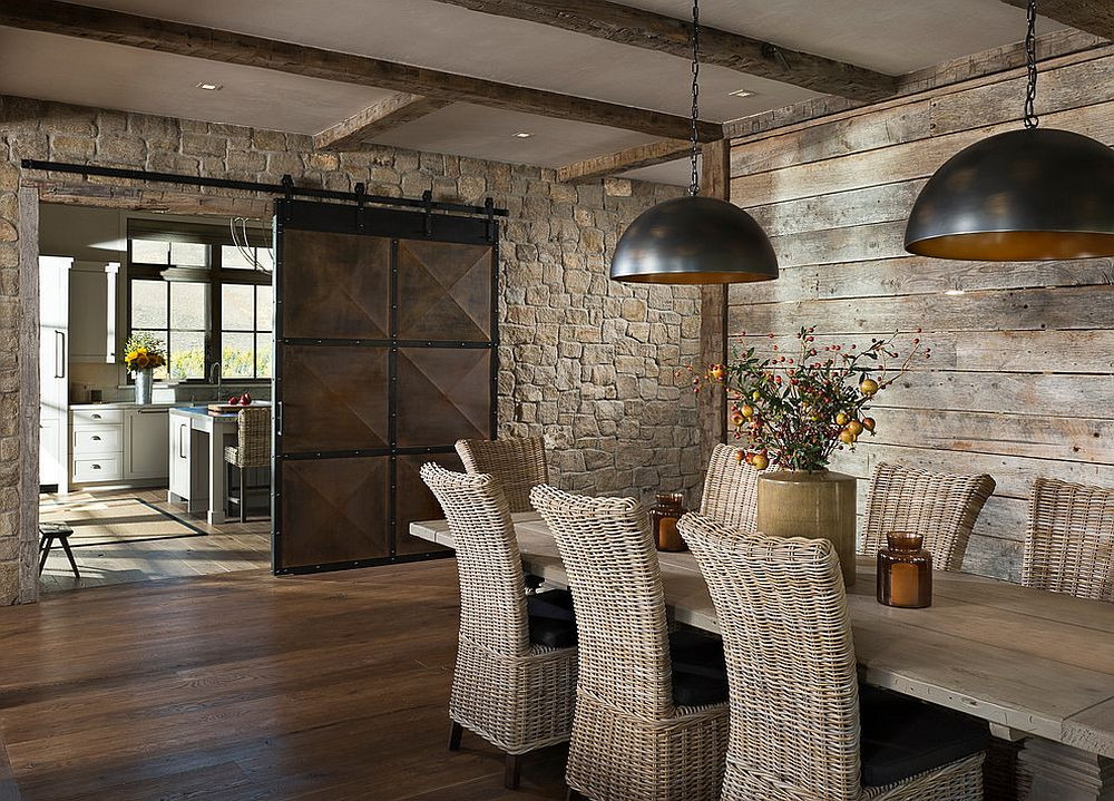 Best ideas about The Dining Room . Save or Pin 25 Diverse Dining Rooms with Sliding Barn Doors Now.