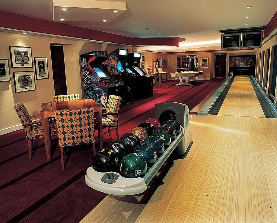 """Best ideas about The Game Room . Save or Pin 63 Finished Basement """"Man Cave"""" Designs AWESOME PICTURES Now."""