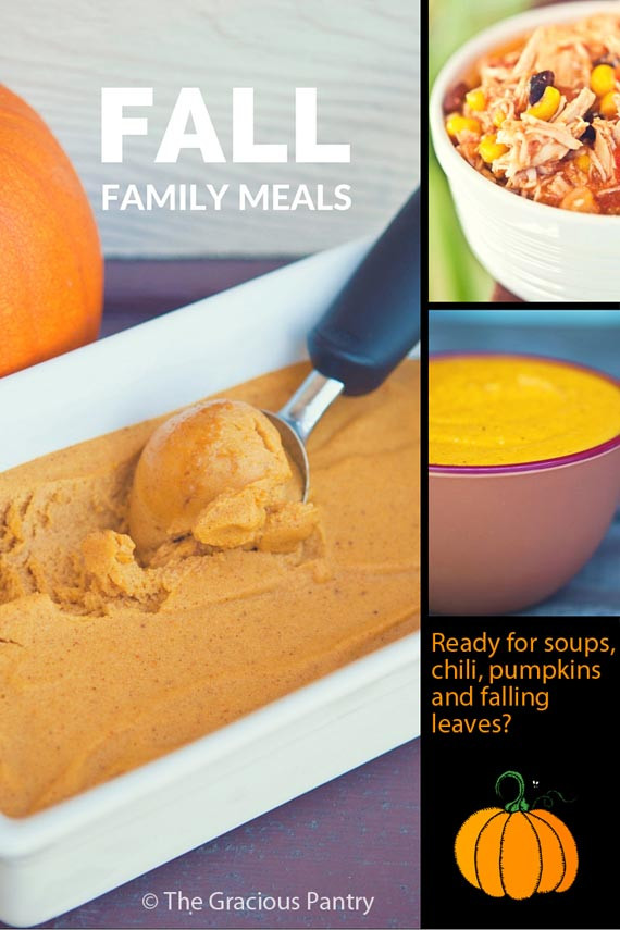 Best ideas about The Gracious Pantry . Save or Pin 30 Fall Family Meals Now.