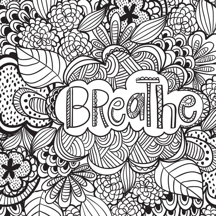 Therapy Coloring Pages For Adults  Coloring Pages For Adults Therapy The Color Panda