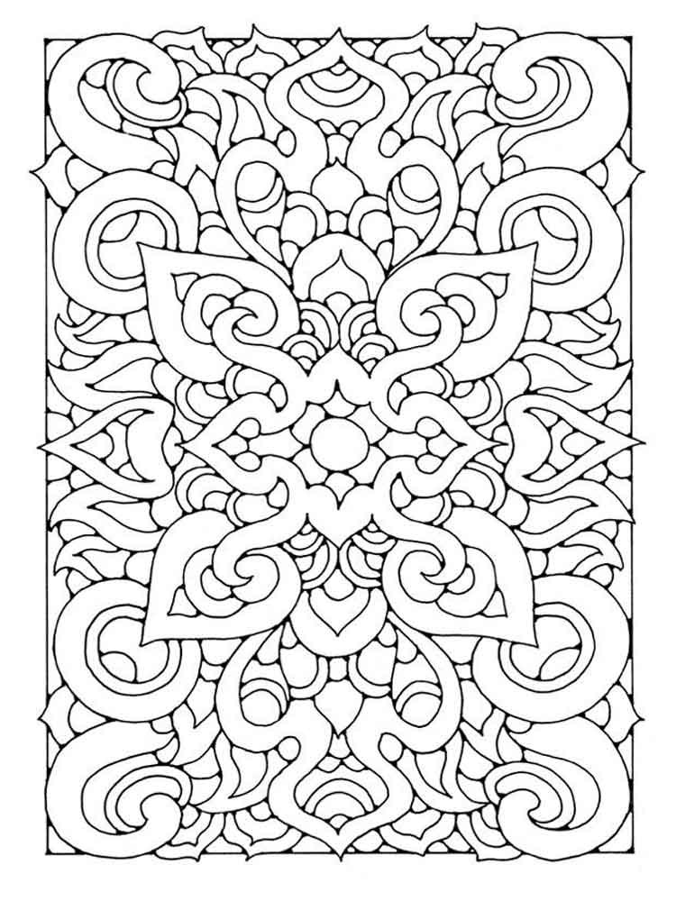 Therapy Coloring Pages For Adults  Art Therapy coloring pages for adults Free Printable Art