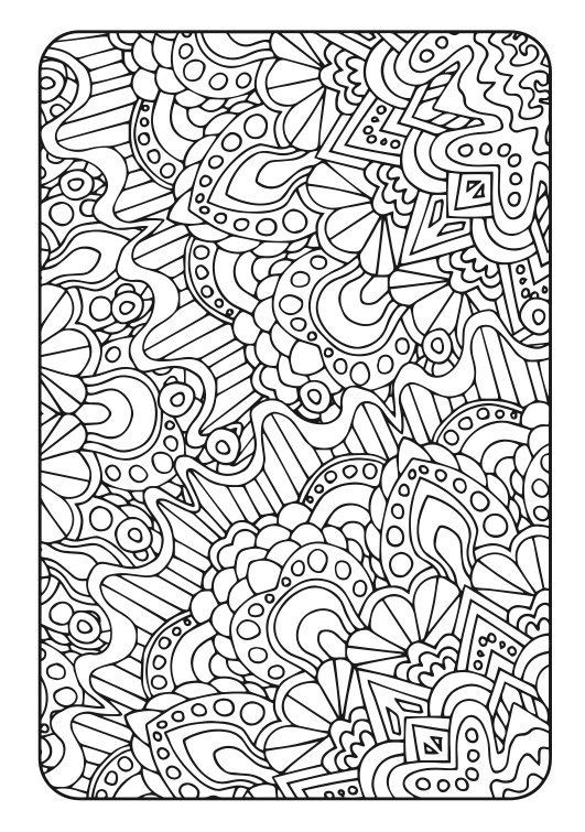 Therapy Coloring Pages For Adults  Adult Coloring Book Art Therapy Volume 3 Printable PDF