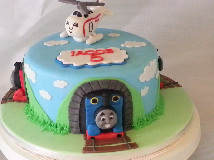 Best ideas about Thomas Birthday Cake . Save or Pin thomas and friends birthday cake Cake by nikki scott Now.