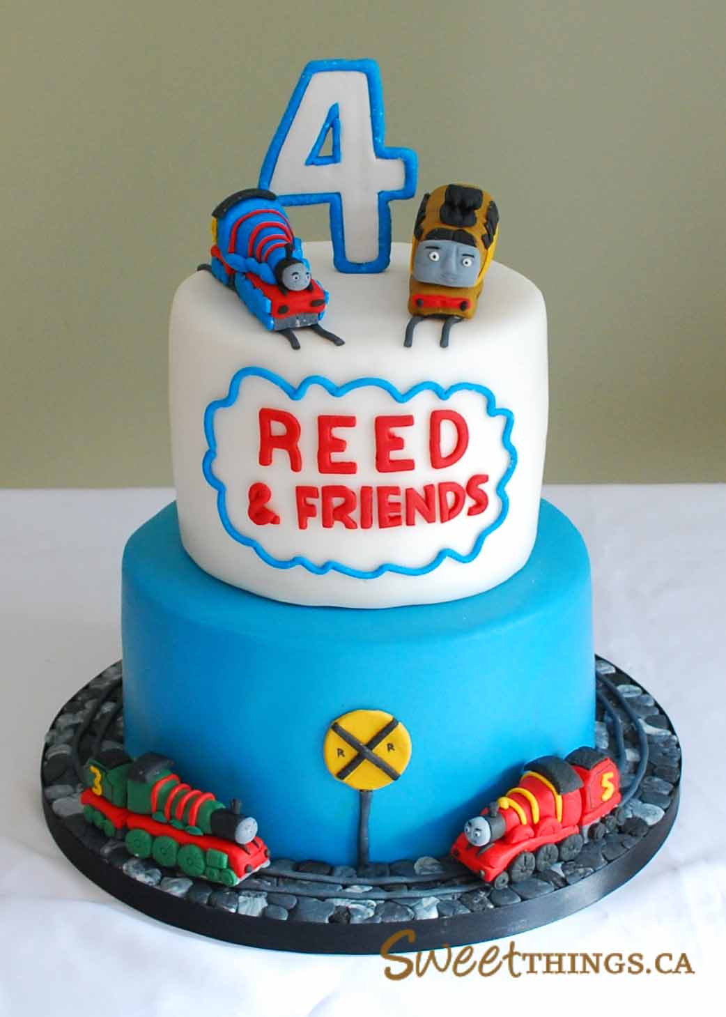 Best ideas about Thomas Birthday Cake . Save or Pin SweetThings 4th Birthday Cake Thomas & Friends Cake Now.