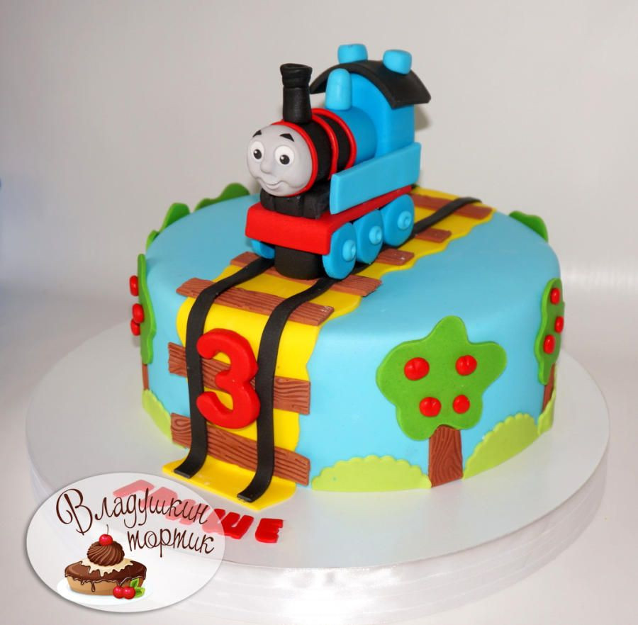 Best ideas about Thomas Birthday Cake . Save or Pin паровоз Thomas the Train Cake by Влада birthday Now.