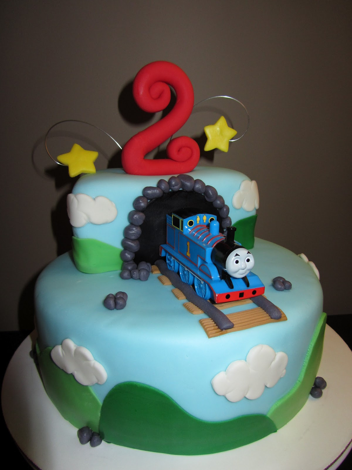 Best ideas about Thomas Birthday Cake . Save or Pin The Sweet Life Thomas The Train 2nd Birthday Cake Now.