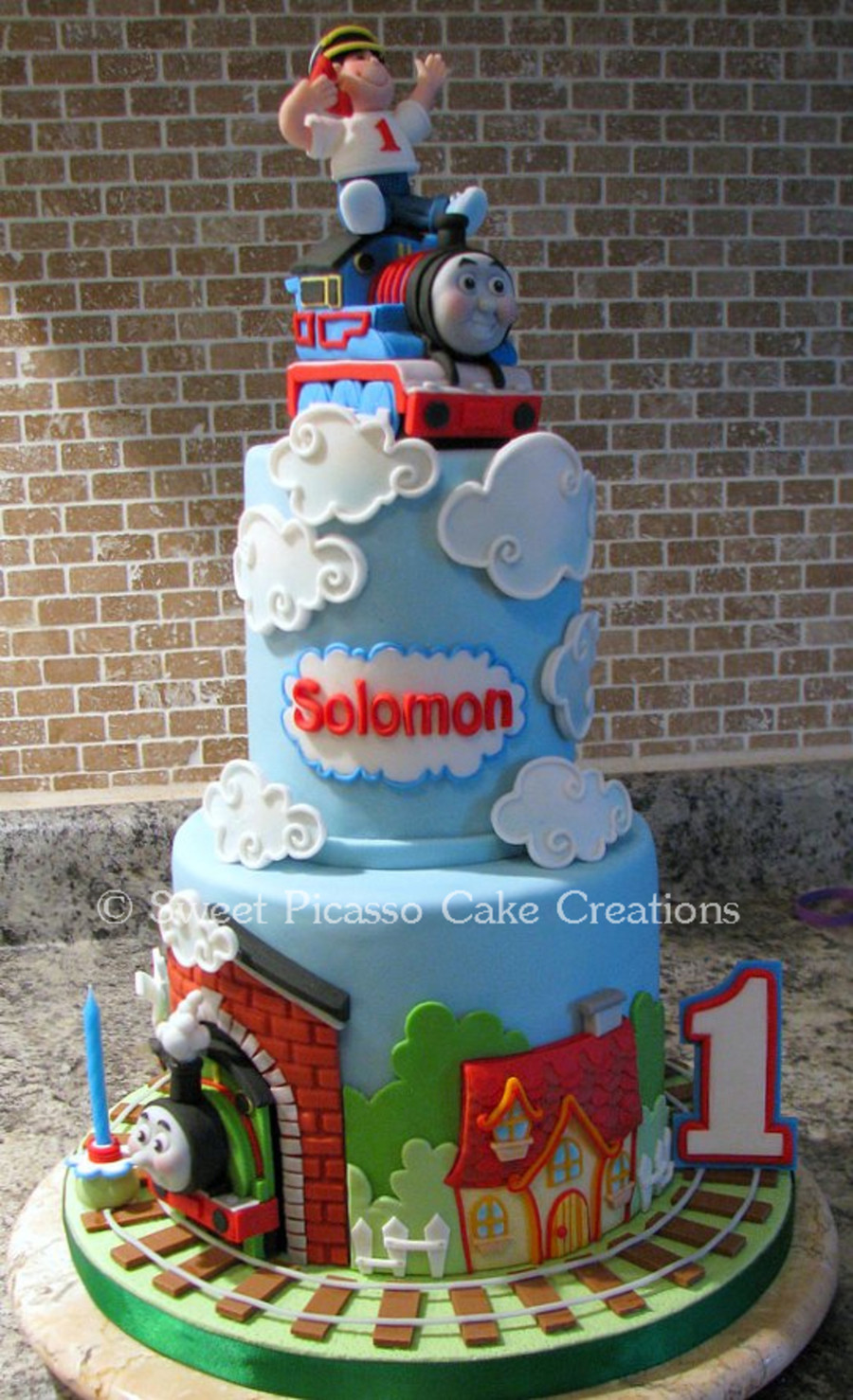 Best ideas about Thomas Birthday Cake . Save or Pin Thomas The Train Cake CakeCentral Now.