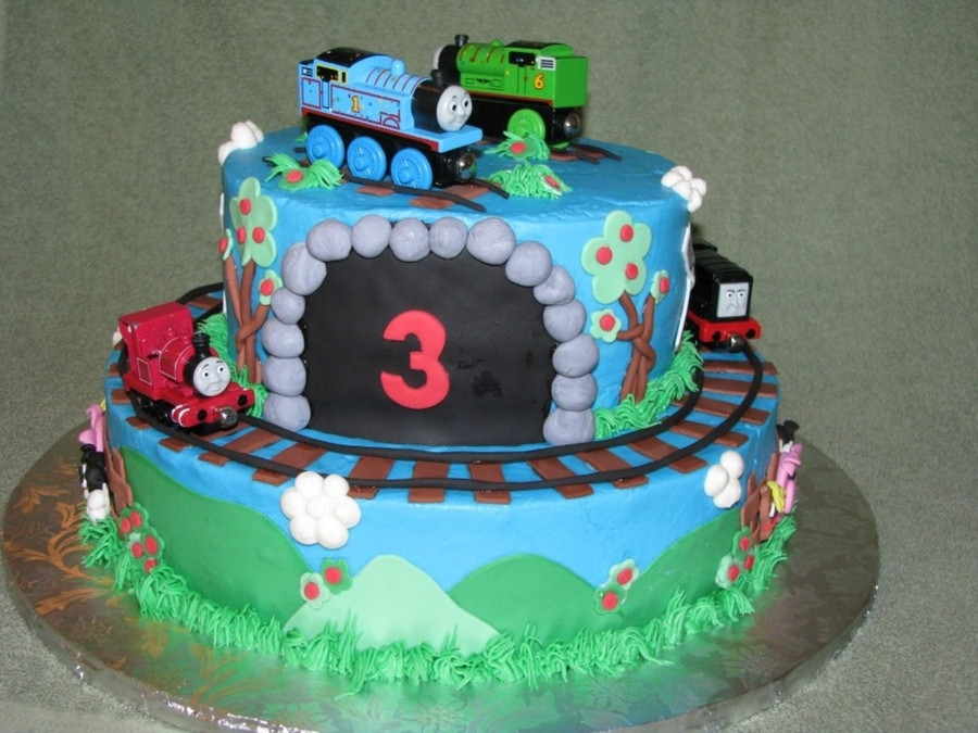 Best ideas about Thomas Birthday Cake . Save or Pin Thomas & Friends Birthday Cake CakeCentral Now.
