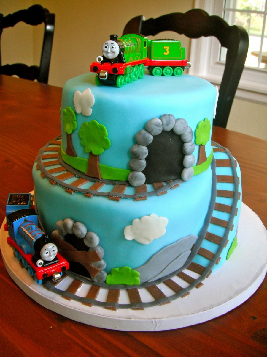 Best ideas about Thomas Birthday Cake . Save or Pin I made this for my 3 year old cousin who Now.