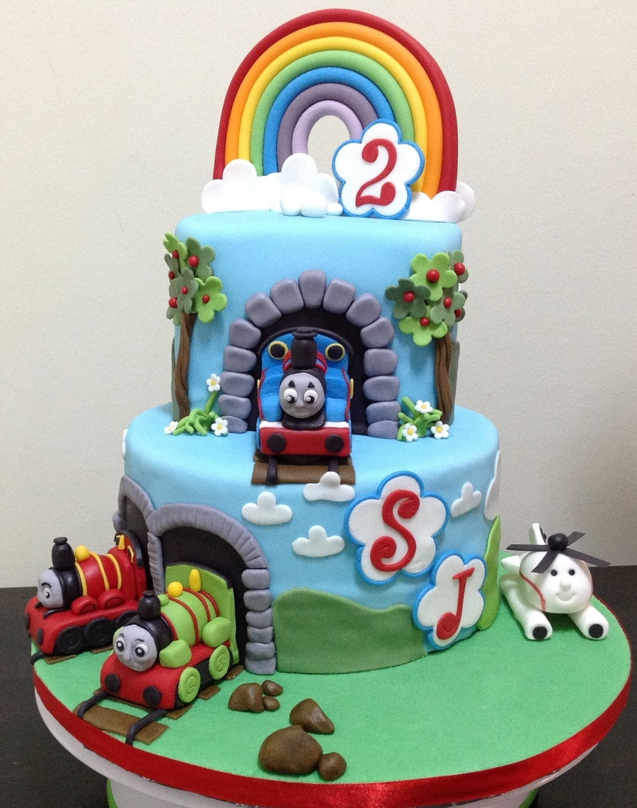 Best ideas about Thomas Birthday Cake . Save or Pin Thomas The Tank Engine 2Nd Birthday Cake CakeCentral Now.