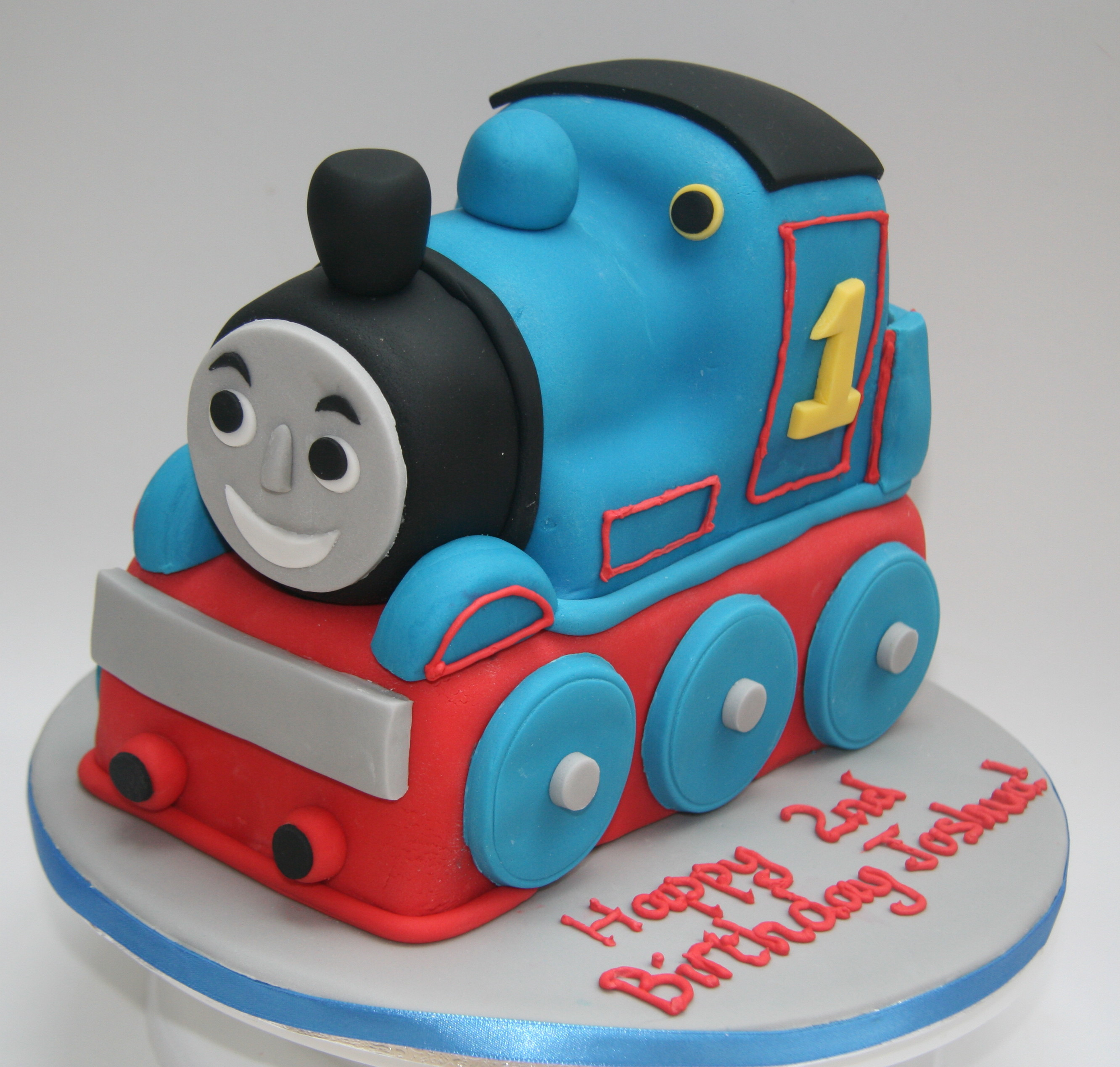 Best ideas about Thomas Birthday Cake . Save or Pin Thomas the Tank Engine Cake Now.