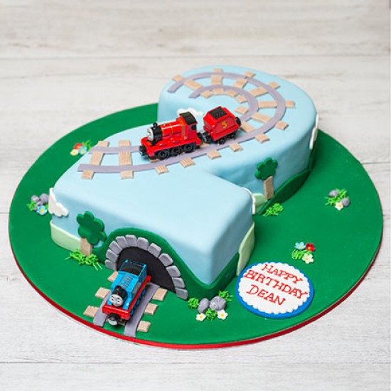 Best ideas about Thomas Birthday Cake . Save or Pin Thomas & Friends Birthday Cake Now.