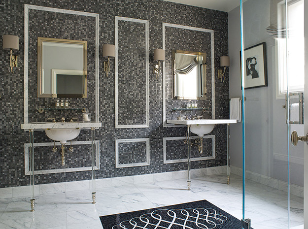Best ideas about Tile Accent Wall . Save or Pin Tiled Accent Wall Design Ideas Now.