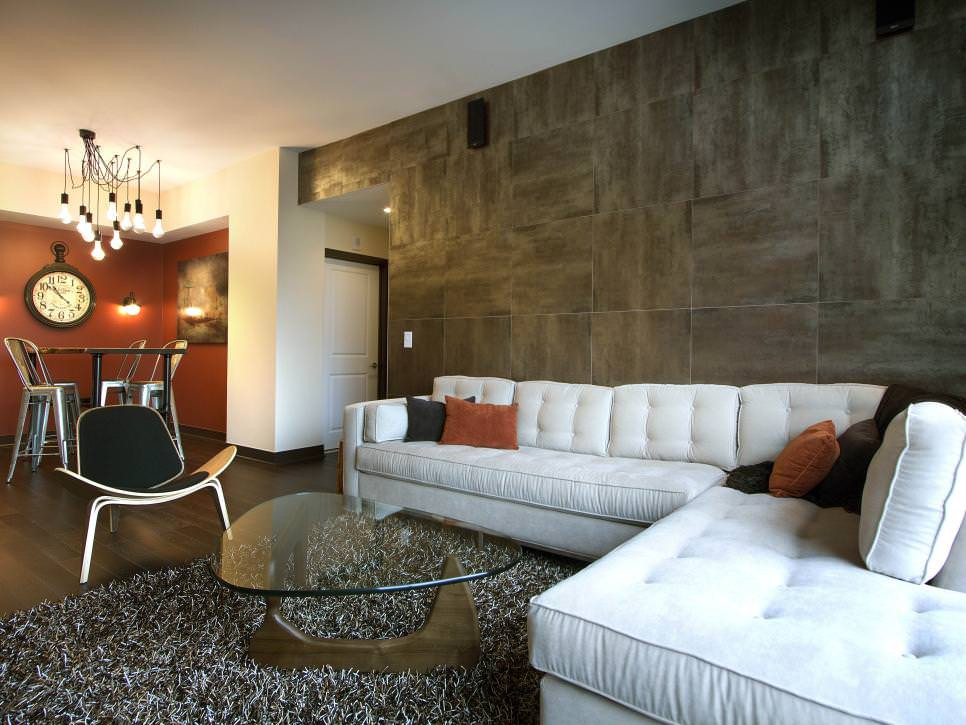 Best ideas about Tile Accent Wall . Save or Pin 21 Tile Wall Living Room Designs Decorating Ideas Now.