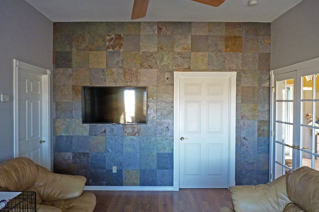 Best ideas about Tile Accent Wall . Save or Pin Creating a Slate Accent Wall – The Easy Way Now.