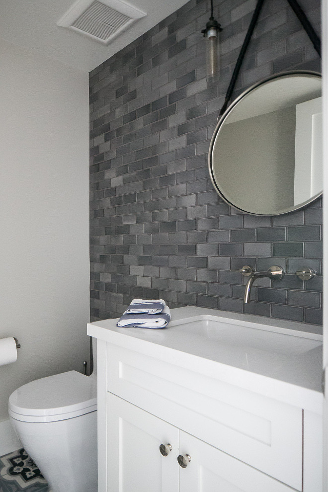 Best ideas about Tile Accent Wall In Bathroom . Save or Pin Category Paint Color Palette Home Bunch – Interior Now.