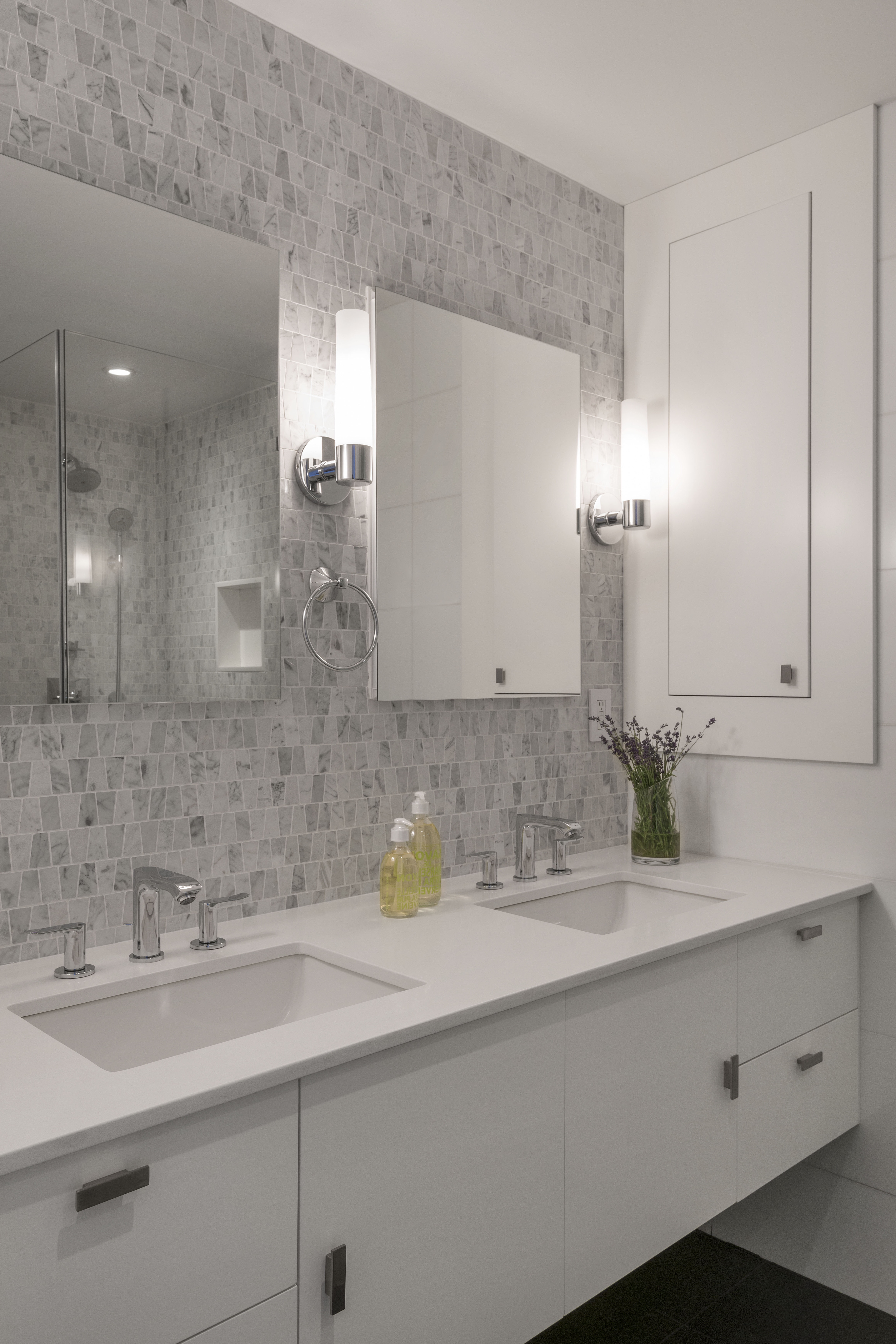 Best ideas about Tile Accent Wall In Bathroom . Save or Pin Bath Tile Designs That Transform A Bathroom Now.