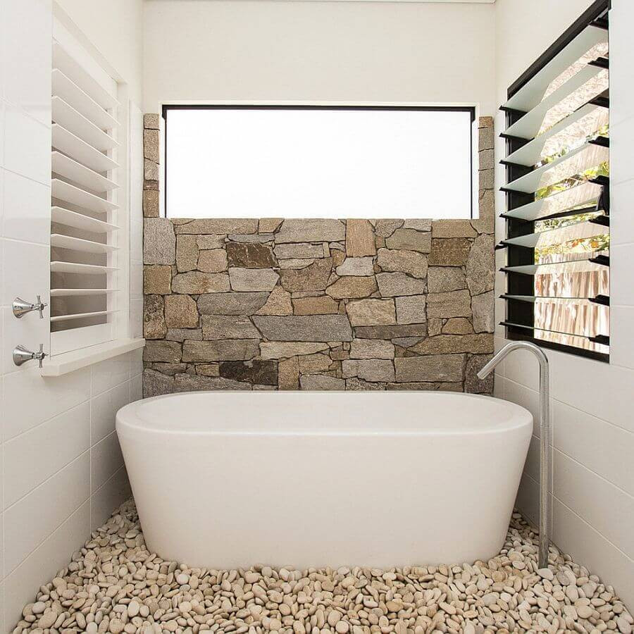 Best ideas about Tile Accent Wall In Bathroom . Save or Pin Bathroom Remodel Cost Guide For Your Apartment – Apartment Now.