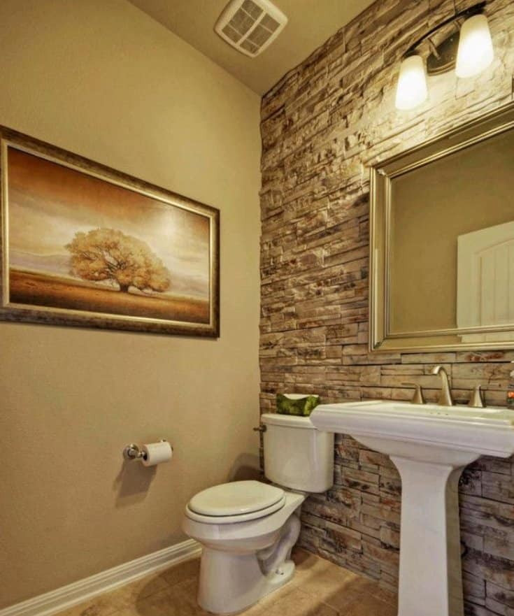 Best ideas about Tile Accent Wall In Bathroom . Save or Pin Awesome Accent Wall Ideas For Bedroom Living Room Now.
