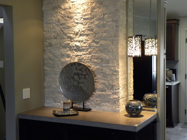 Best ideas about Tile Accent Wall . Save or Pin Accent Furniture Stonewall Now.