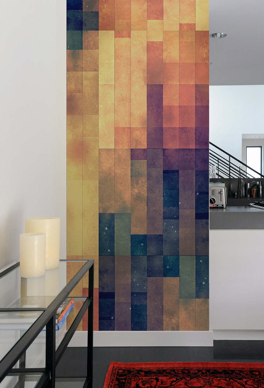 Best ideas about Tile Accent Wall . Save or Pin Create A Captivating Accent Wall With Geometric Patterned Now.