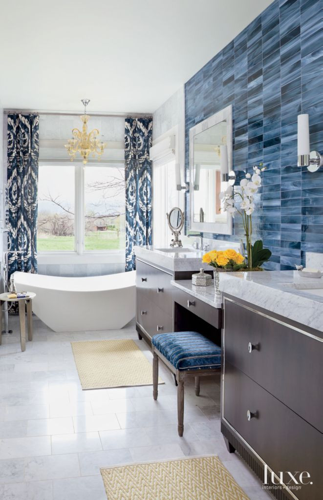 Best ideas about Tile Accent Wall . Save or Pin Tile Accent Wall In Bathroom Now.