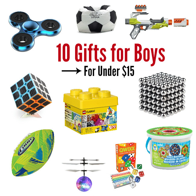 Top Gift Ideas For Boys  10 Best Gifts for a 10 Year Old Boy for Under $15 – Fun