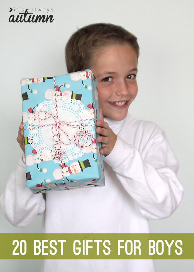 Top Gift Ideas For Boys  20 best Christmas t ideas for boys It s Always Autumn