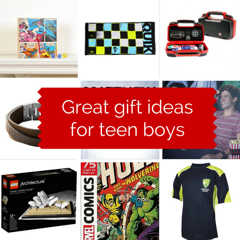 Top Gift Ideas For Boys  Great t ideas for teen boys GIVEAWAY