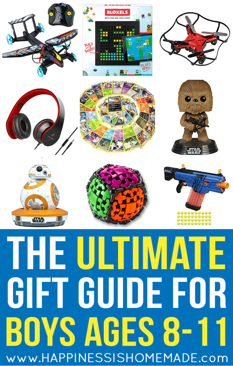Top Gift Ideas For Boys  The Best Gift Ideas for Boys Ages 8 11 Happiness is Homemade