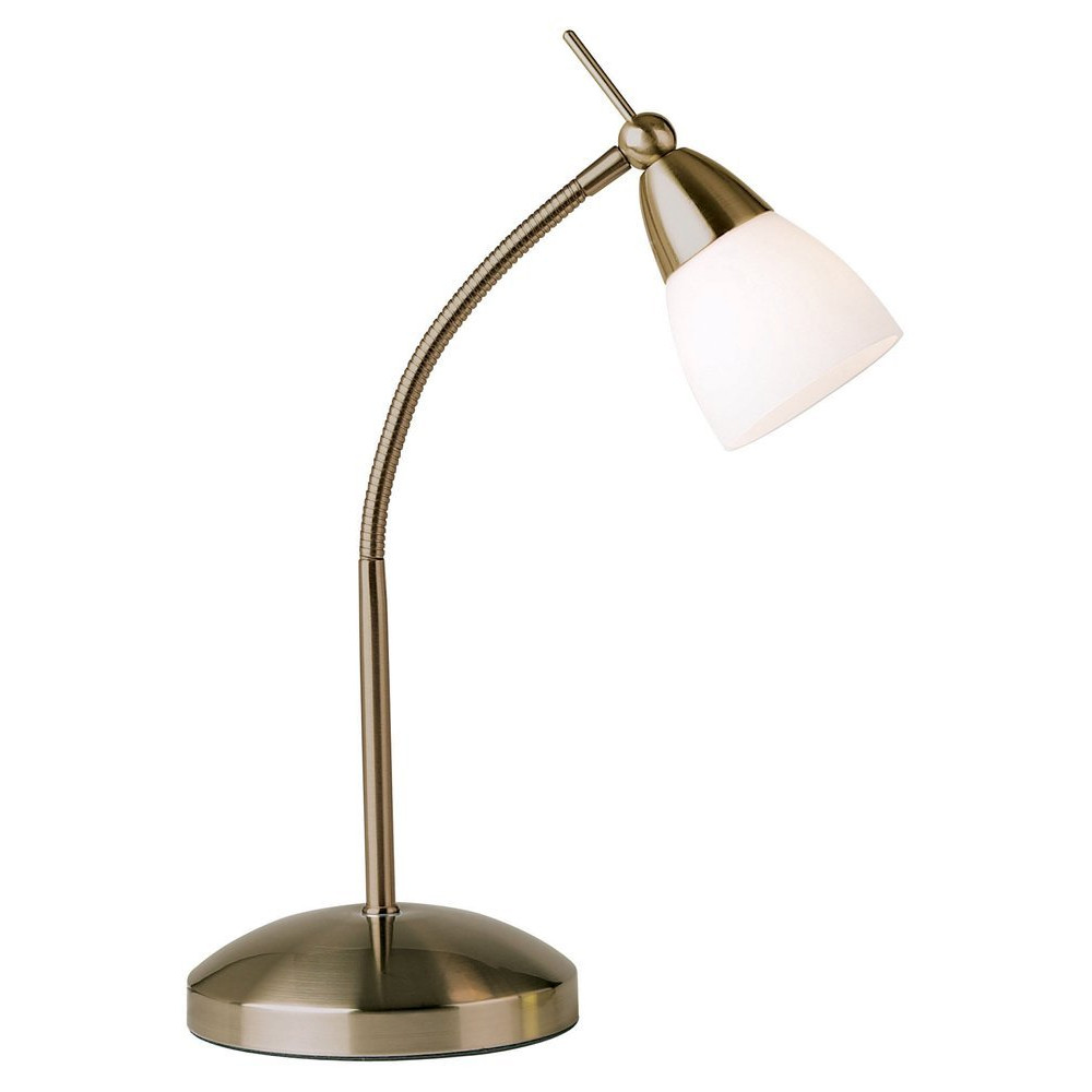 Best ideas about Touch Desk Lamp . Save or Pin Low Energy Halogen Touch Dimmable Antique Brass Desk Lamp Now.