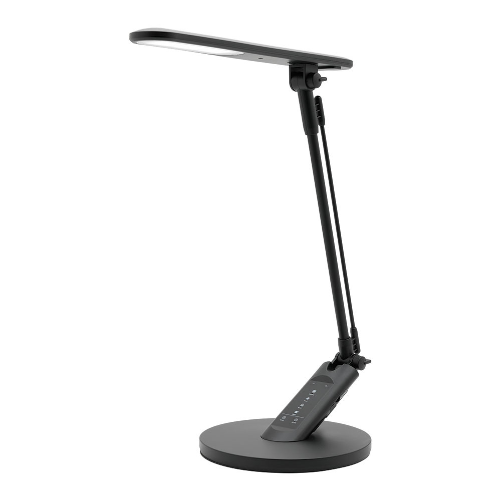Best ideas about Touch Desk Lamp . Save or Pin Flick 5W LED Touch Desk Lamp USB Port Timer Black Now.