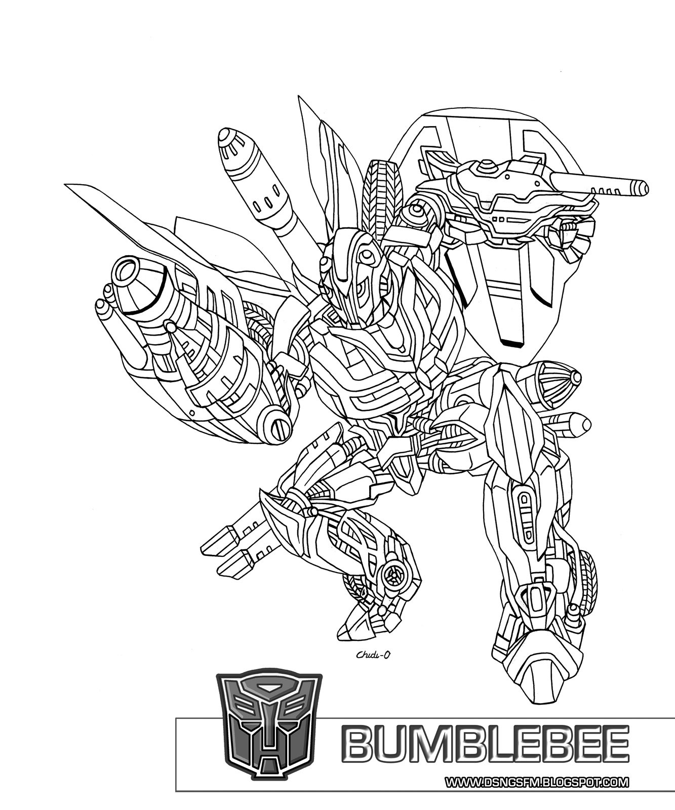 Transformers Coloring Pages Bumblebee  52 Transformers Bumblebee Coloring Page Bumblebee