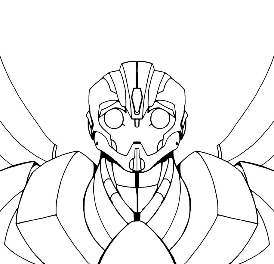 Transformers Coloring Pages Bumblebee  Best s of Bumble Bee Transformer Coloring Pages