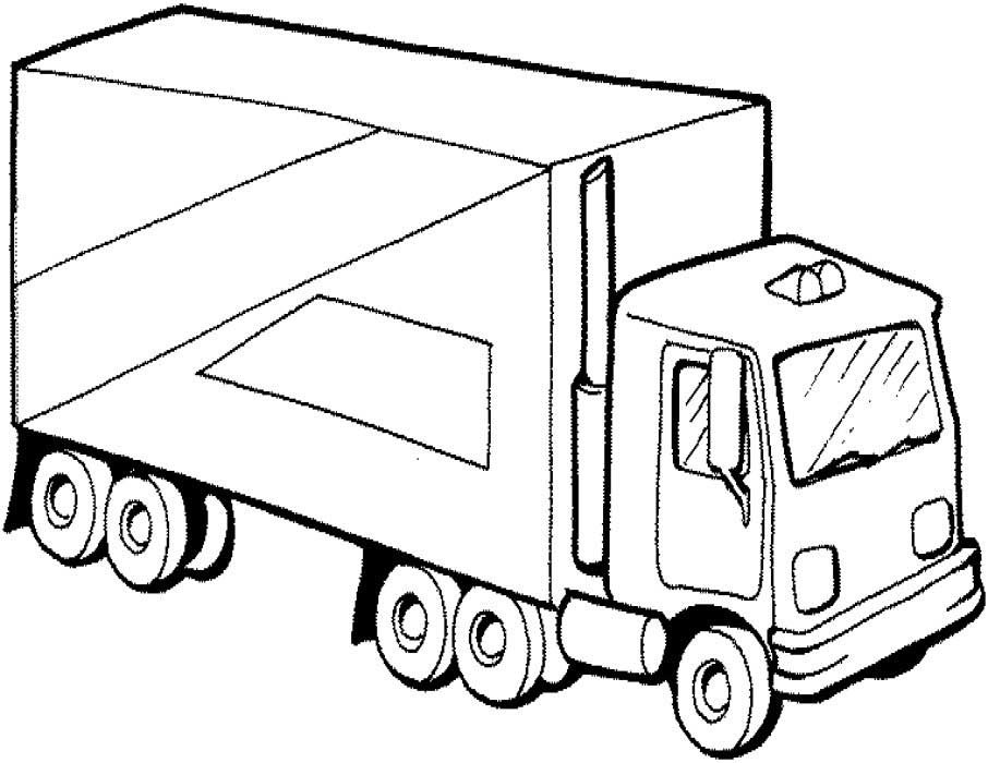 Trucks Coloring Pages For Kids  40 Free Printable Truck Coloring Pages Download