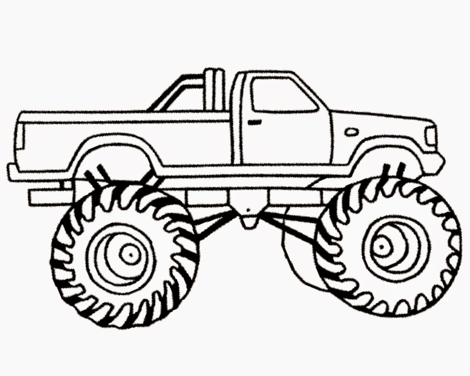 Trucks Coloring Pages For Kids  Monster Truck Coloring Pages coloringsuite