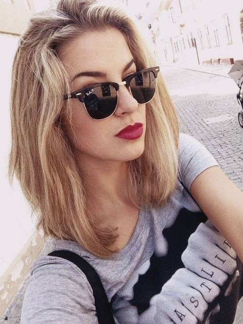 Best ideas about Tumblr Girls Hairstyle . Save or Pin medium length hairstyle Now.