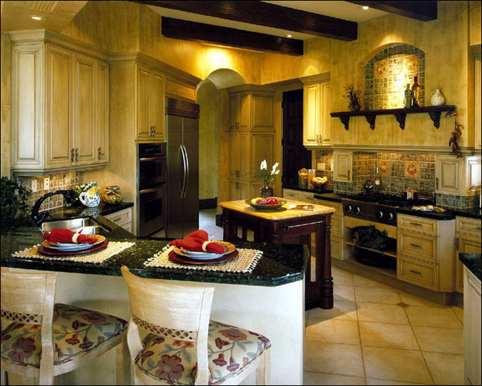 Best ideas about Tuscany Kitchen Decor . Save or Pin Tuscan Kitchen Ideas Room Design Ideas Now.