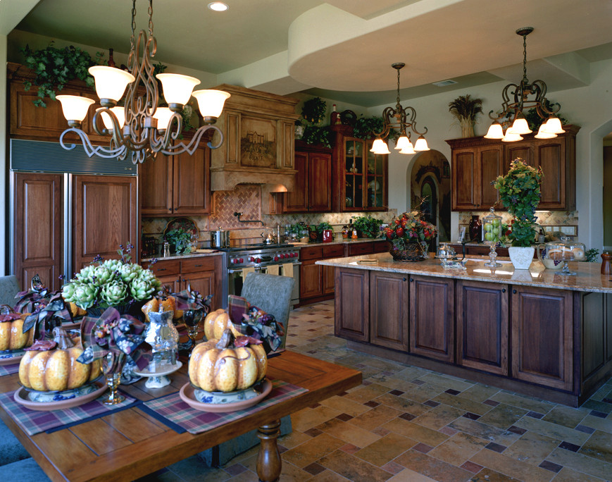 Best ideas about Tuscany Kitchen Decor . Save or Pin Excellent Tuscan Style Kitchen Cabinets Presenting Best Now.