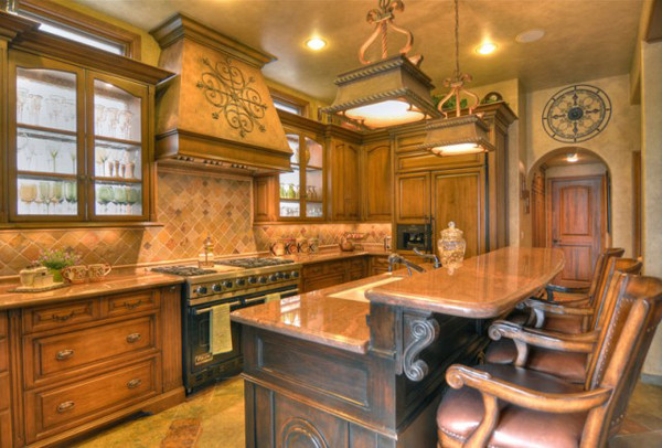Best ideas about Tuscany Kitchen Decor . Save or Pin Tuscan Interior Design Ideas Now.